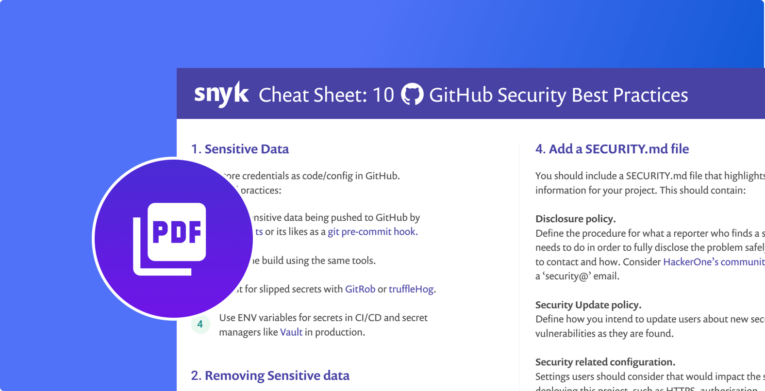 10 GitHub Security Best Practices