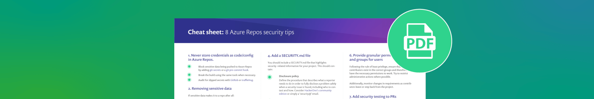 Add security testing to pull requests in Azure Repos   Snyk