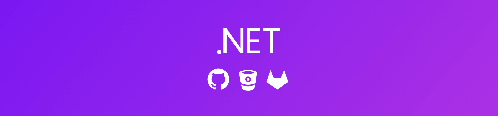 Launching NET support for GitHub Bitbucket and GitLab