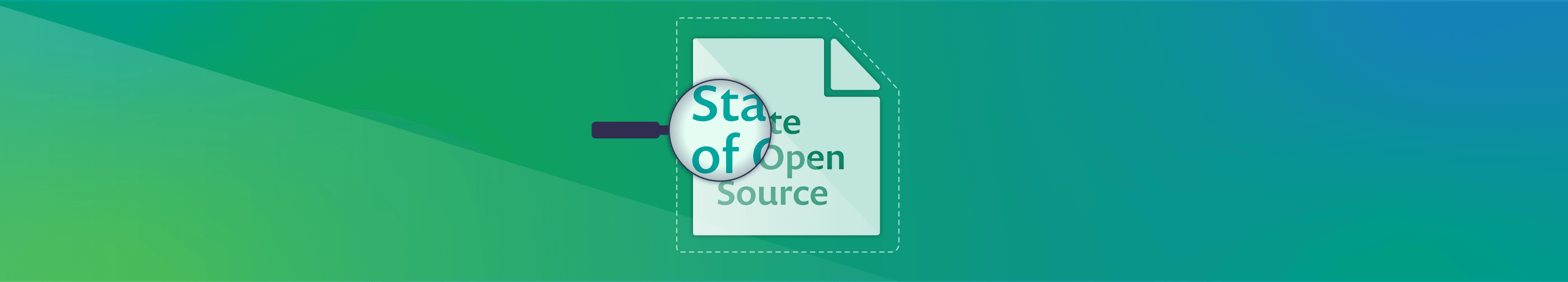 Green header Open Source Security