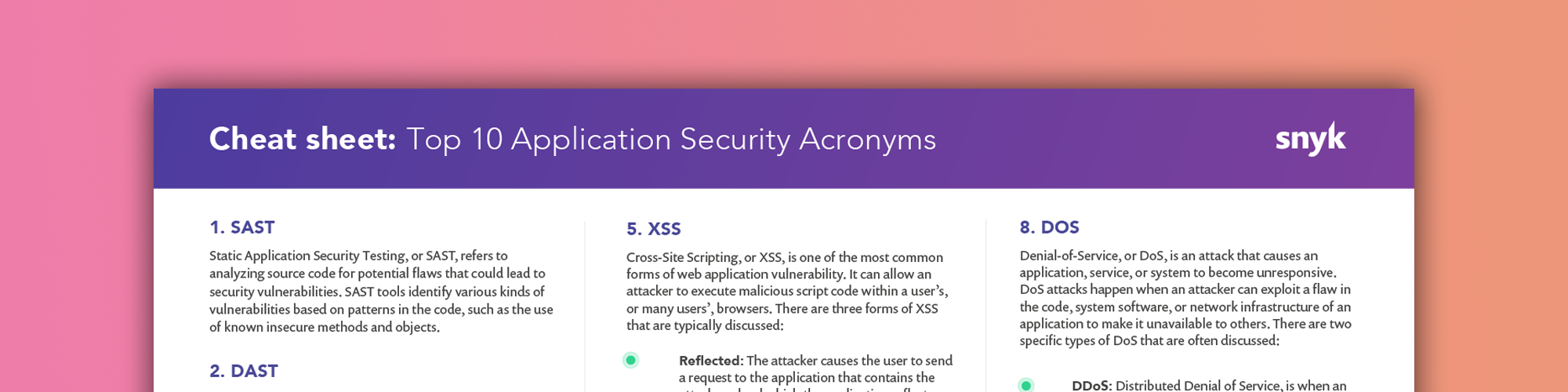 security acronyms